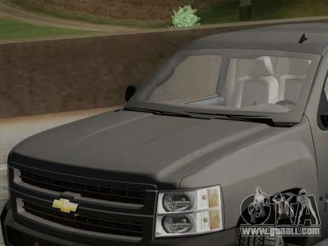 Chevrolet Silverado 2500HD 2013 for GTA San Andreas side view