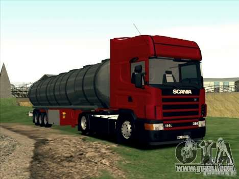 Scania 114L for GTA San Andreas