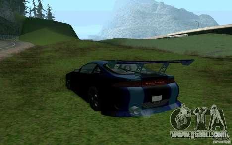 Mitsubishi Eclipse 1999 Sport for GTA San Andreas left view
