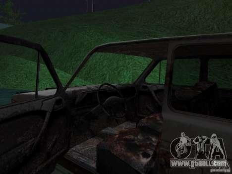 VAZ NIVA 1982 Rusty for GTA San Andreas