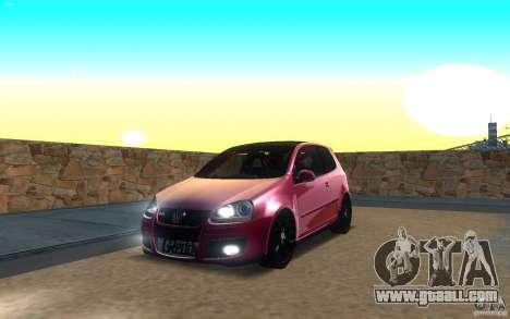 VolksWagen Golf GTI MK5 for GTA San Andreas