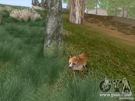 Wild Life Mod 0.1b for GTA San Andreas ninth screenshot