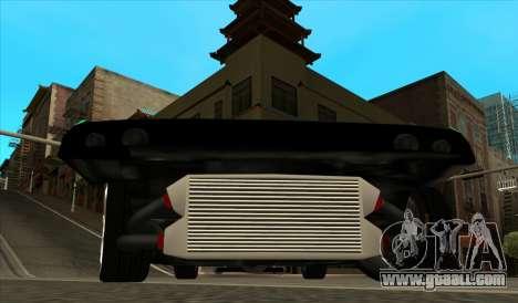 Elegy Piu for GTA San Andreas back view