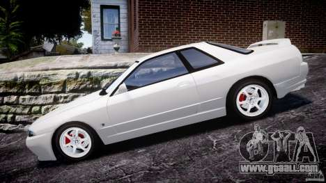 Nissan Skyline R32 GTS-t 1989 [Final] for GTA 4 left view
