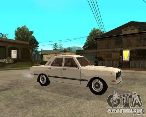 Volga GAZ 24-10 051 for GTA San Andreas right view
