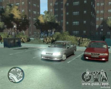 Daewoo Nexia DOHC for GTA 4 right view