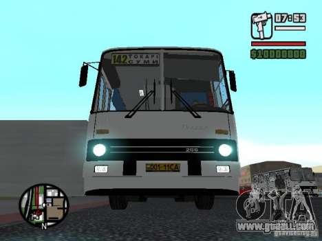 Ikarus 266 City for GTA San Andreas left view