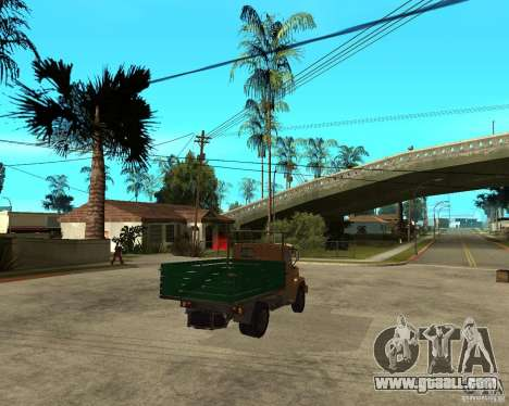 ZIL-433362 Extra Pack 1 for GTA San Andreas inner view