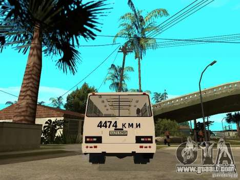 PAZ 3205 for GTA San Andreas back left view