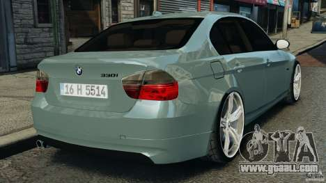 BMW 330i E92 for GTA 4 back left view