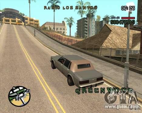 New Fonts for GTA San Andreas