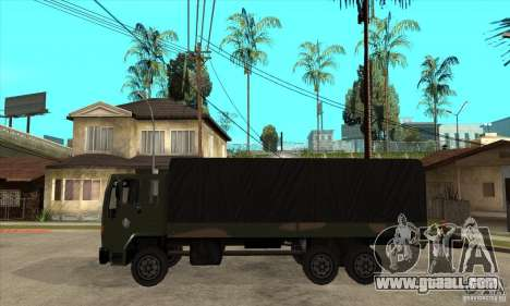 DFT-30 Brazilian Army for GTA San Andreas left view