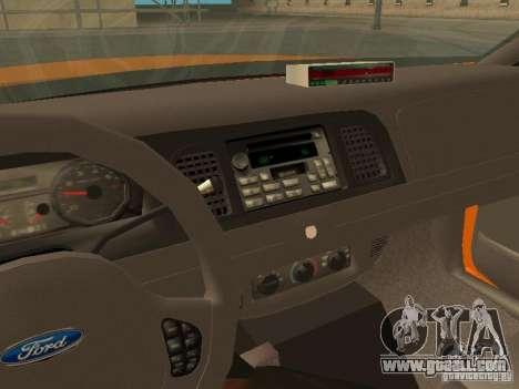 Ford Crown Victoria San Francisco Cab for GTA San Andreas side view