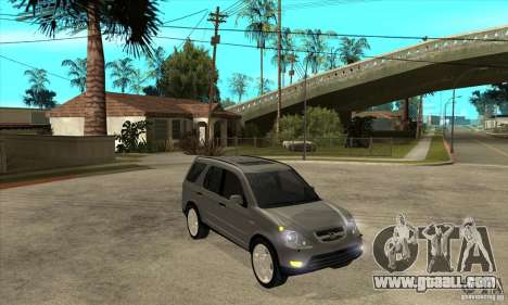 Honda CRV (MK2) for GTA San Andreas back view