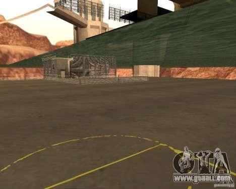 Base Of The DRAGON for GTA San Andreas forth screenshot