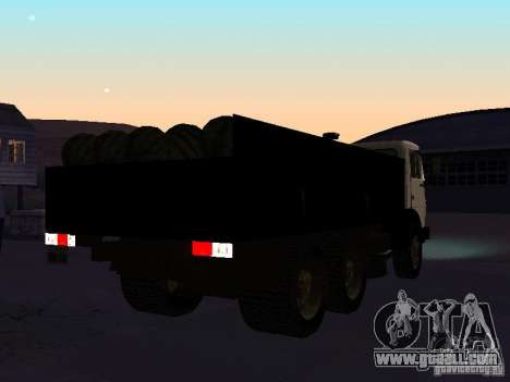 KAMAZ 53212 open for GTA San Andreas right view