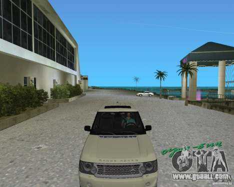 Rang Rover 2010 for GTA Vice City left view