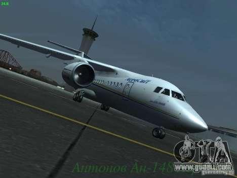 Antonov an-148 Aerosvit Ukrainian Airlines for GTA San Andreas