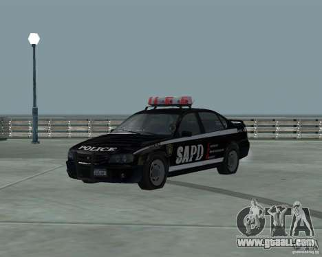 Cop Car Chevrolet for GTA San Andreas
