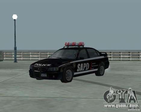 Cop Car Chevrolet for GTA San Andreas