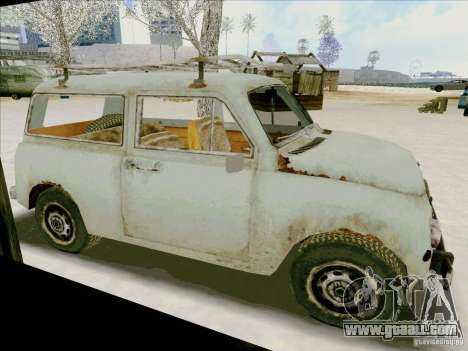 Car from COD 4 MW for GTA San Andreas left view