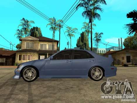 Toyota Altezza for GTA San Andreas