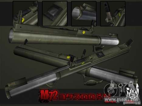 M72 LAW-Bazooka for GTA San Andreas