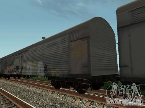 Refrežiratornyj wagon Dessau No. 8 Painted for GTA San Andreas back left view