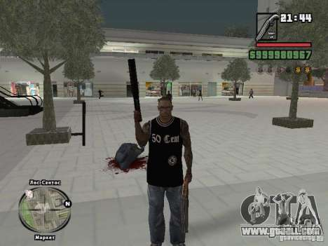 50 cent tank top for GTA San Andreas
