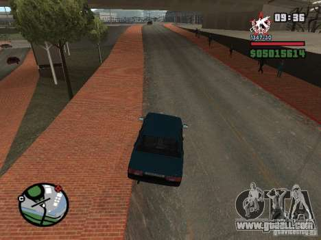 Todas Ruas v3.0 (San Fierro) for GTA San Andreas third screenshot