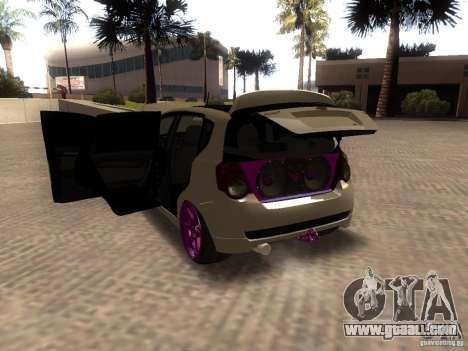 Chevrolet Aveo Tuning for GTA San Andreas back left view