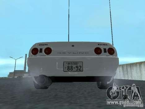 Nissan Skyline R32 Zenki for GTA San Andreas right view