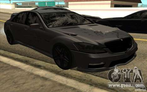 Mercedes-Benz S65 AMG for GTA San Andreas side view