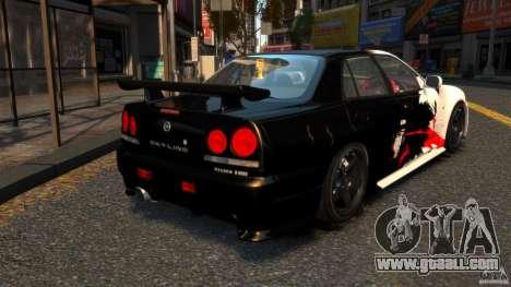 Nissan Skyline ER34 Nismo Z Tune for GTA 4 back left view