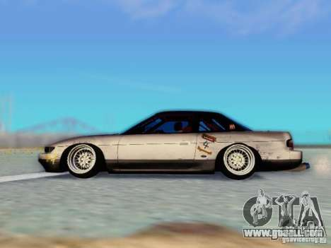 Nissan S13 - Touge for GTA San Andreas right view