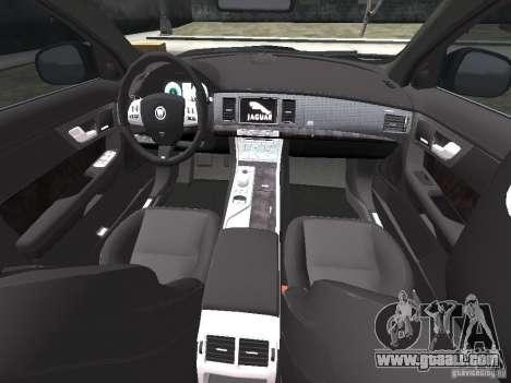 Jaguar XFR for GTA 4 interior