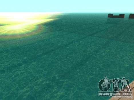 The default water for GTA San Andreas third screenshot