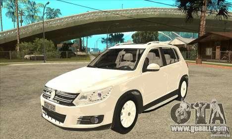 Volkswagen Tiguan 2.0 TDI 2012 for GTA San Andreas