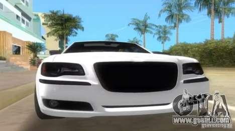 Chrysler 300C SRT V10 TT Black Revel 2011 for GTA Vice City right view