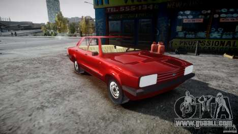 Ford Taunus for GTA 4 right view