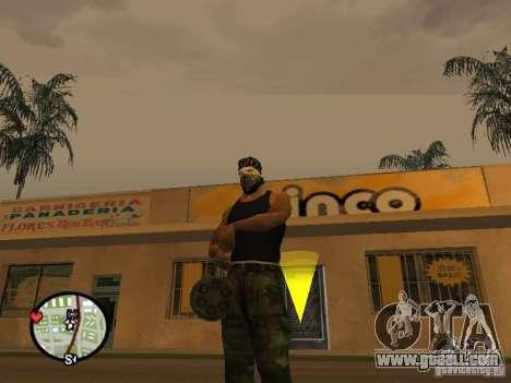 M134 Minigun from CoD: Mw2 for GTA San Andreas forth screenshot