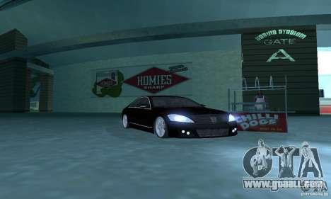 Brabus SV12 S Biturbo (w221) 2006 for GTA San Andreas left view
