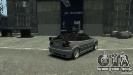 Volkswagen Corrado for GTA 4 left view