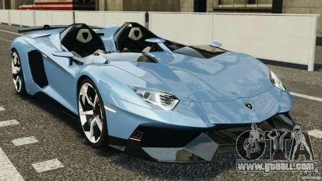 Lamborghini Aventador J 2012 for GTA 4