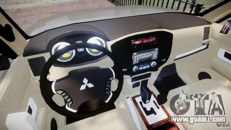 Mitsubishi Pajero Wagon for GTA 4 back view