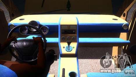 Honda Element LX for GTA San Andreas bottom view