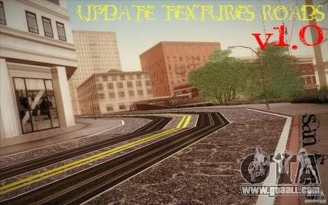 New roads San Fierro for GTA San Andreas second screenshot