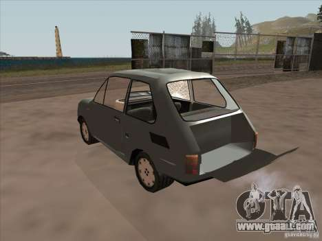 Fiat 126p Elegant for GTA San Andreas inner view