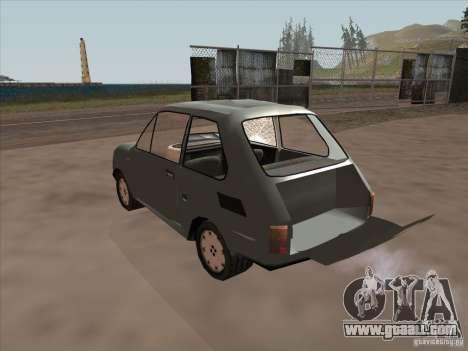 Fiat 126p Elegant for GTA San Andreas inner view