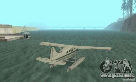 DeHavilland Beaver DHC2 for GTA San Andreas left view